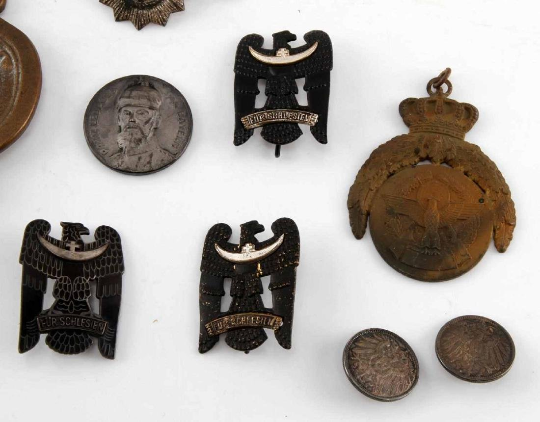 LOT OF RARE IMPERIAL WEIMAR GERMAN PINS & MEDALS - 2