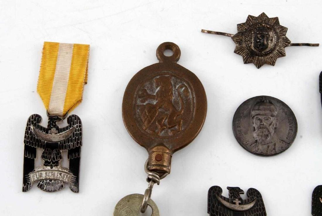 LOT OF RARE IMPERIAL WEIMAR GERMAN PINS & MEDALS - 3