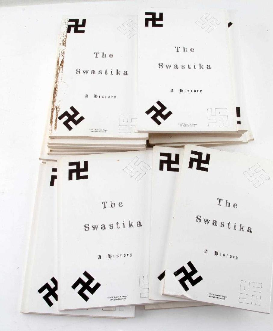 DEALER STOCK 25 BOOK LOT THE SWASTIKA  A HISTORY