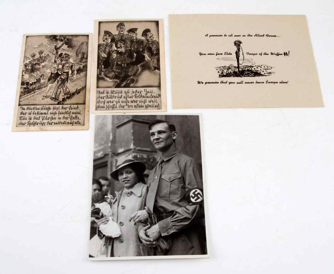 WWII GERMAN THIRD REICH PHOTO AND POST CARD LOT