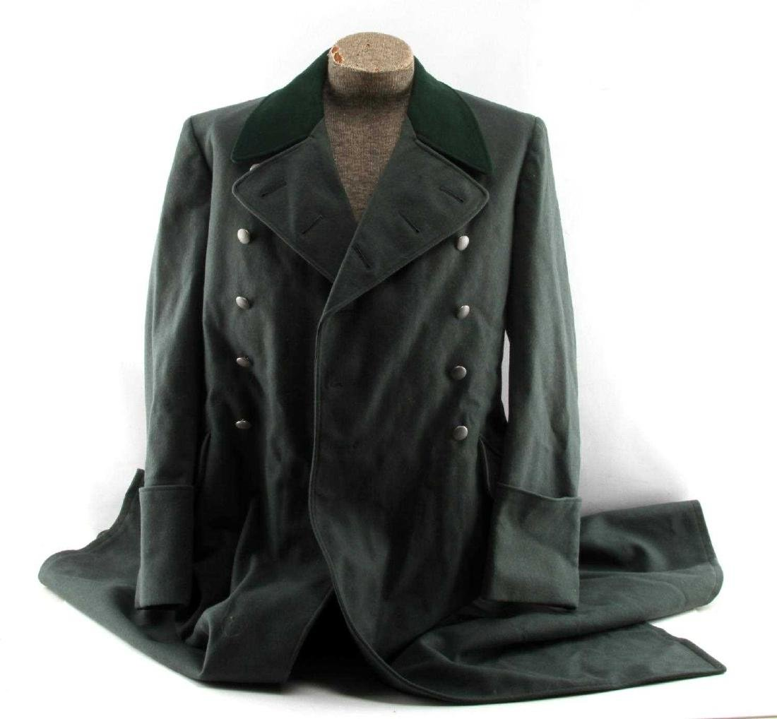 WWII GERMAN THIRD REICH ARMY OFFICER OVERCOAT