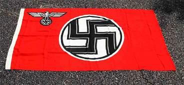 WWII THIRD REICH GERMAN REICHSADLER FLAG KRESS ST