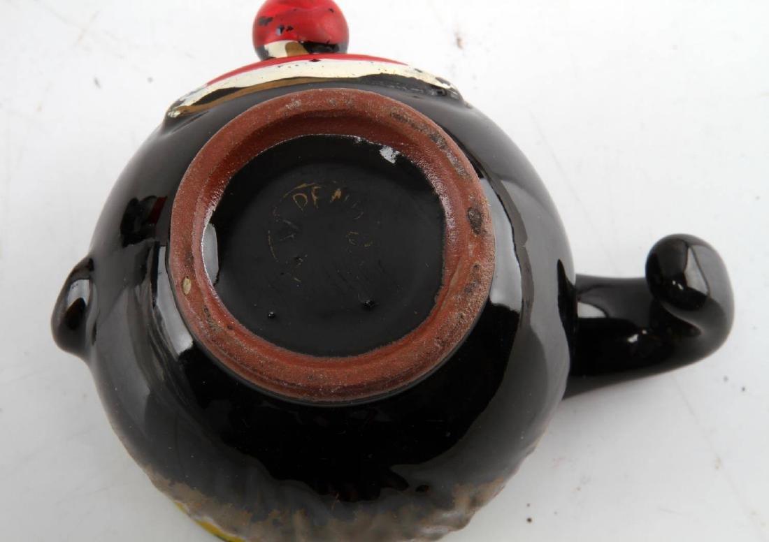 BLACK AMERICANA CREAMER CUP SALT & PEPPER SHAKERS - 5