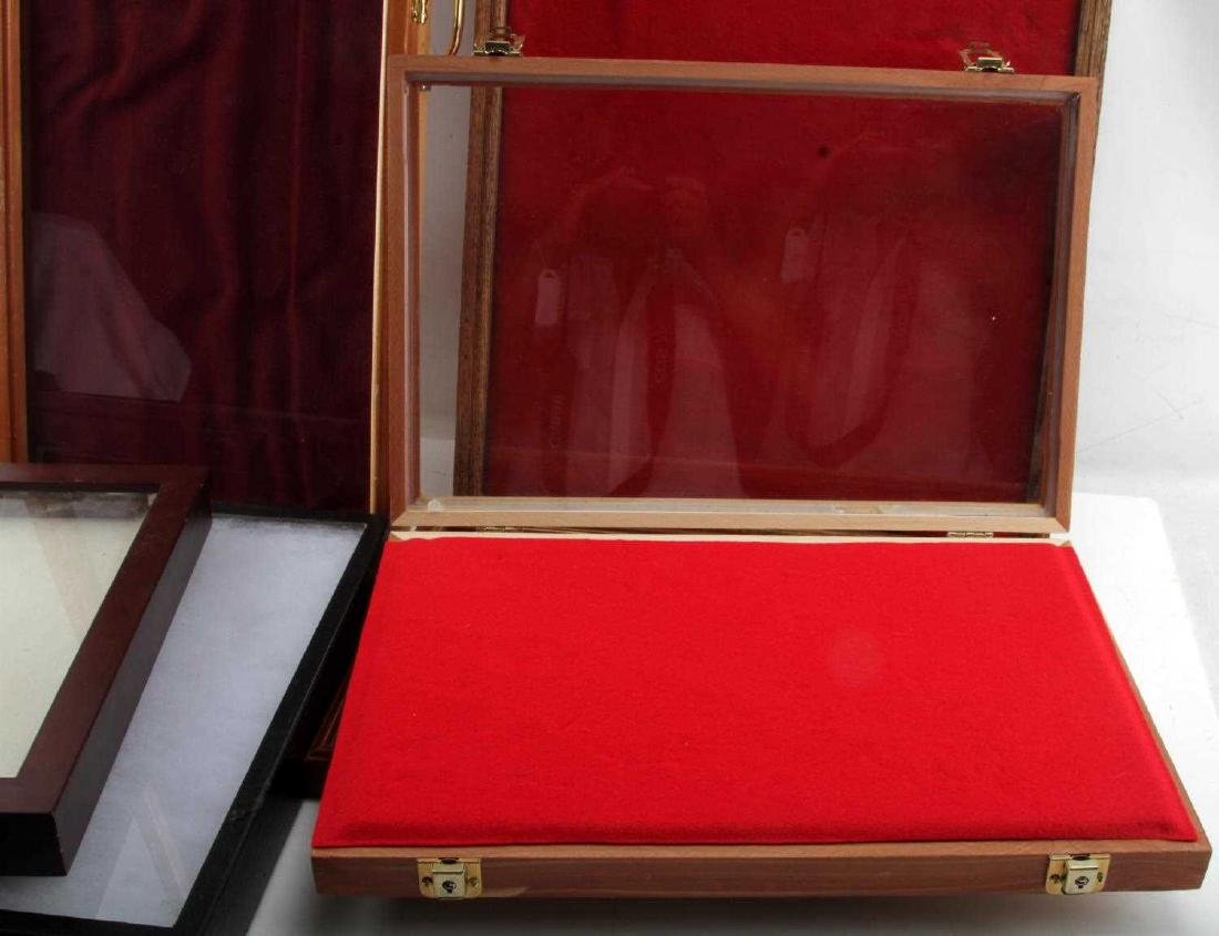 10 LARGE RIKER MOUNT SHADOW BOX & DISPLAY CASE LOT - 4