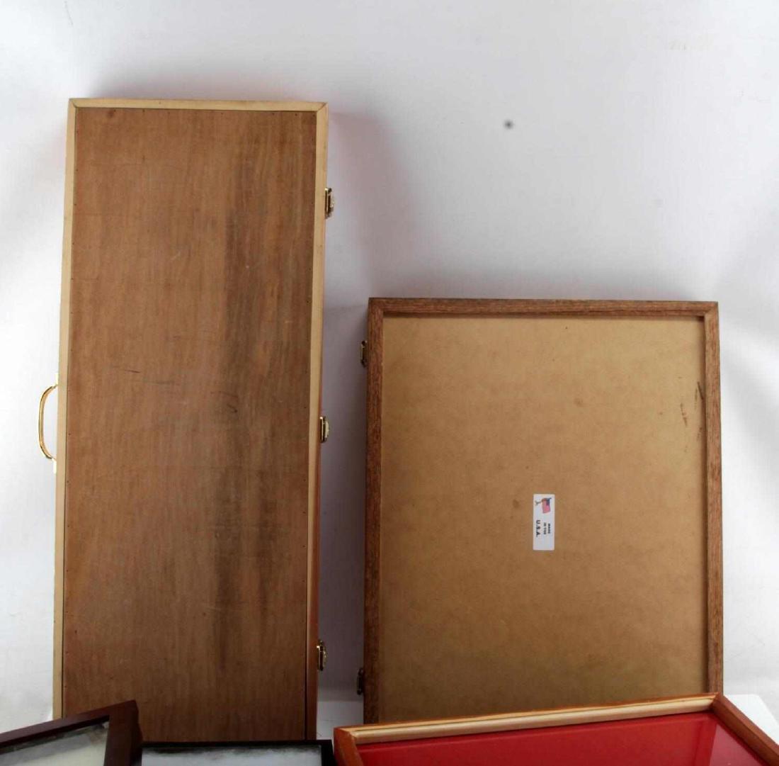 10 LARGE RIKER MOUNT SHADOW BOX & DISPLAY CASE LOT - 5