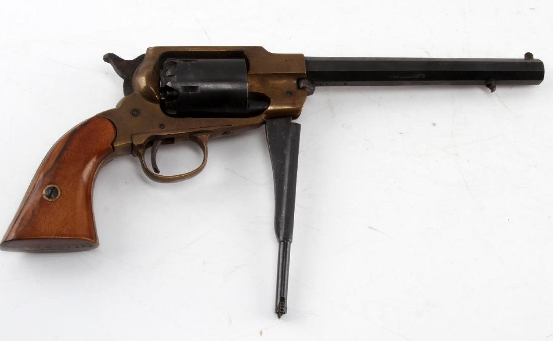 REMINGTON REPRODUCTION BLACK POWDER REVOLVER - 6