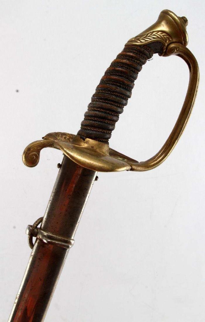 ANTIQUE GERMAN SAXON INFANTRY OFFICER SWORD