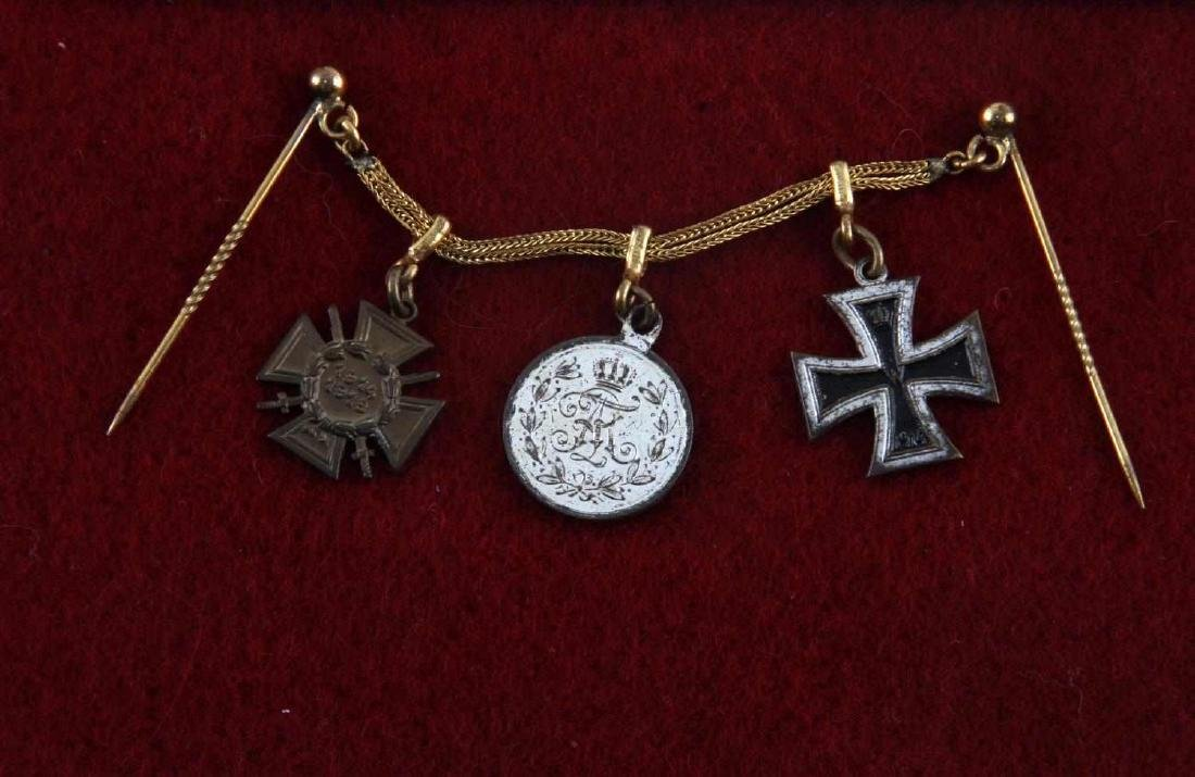 WWI WWII MINI MEDALS HINDENBURG IRON CROSS AUGUST - 2