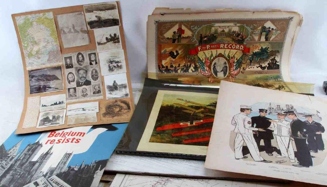 1902 WWI WWII POLICE FIREMAN WAR MILITARY POSTERS