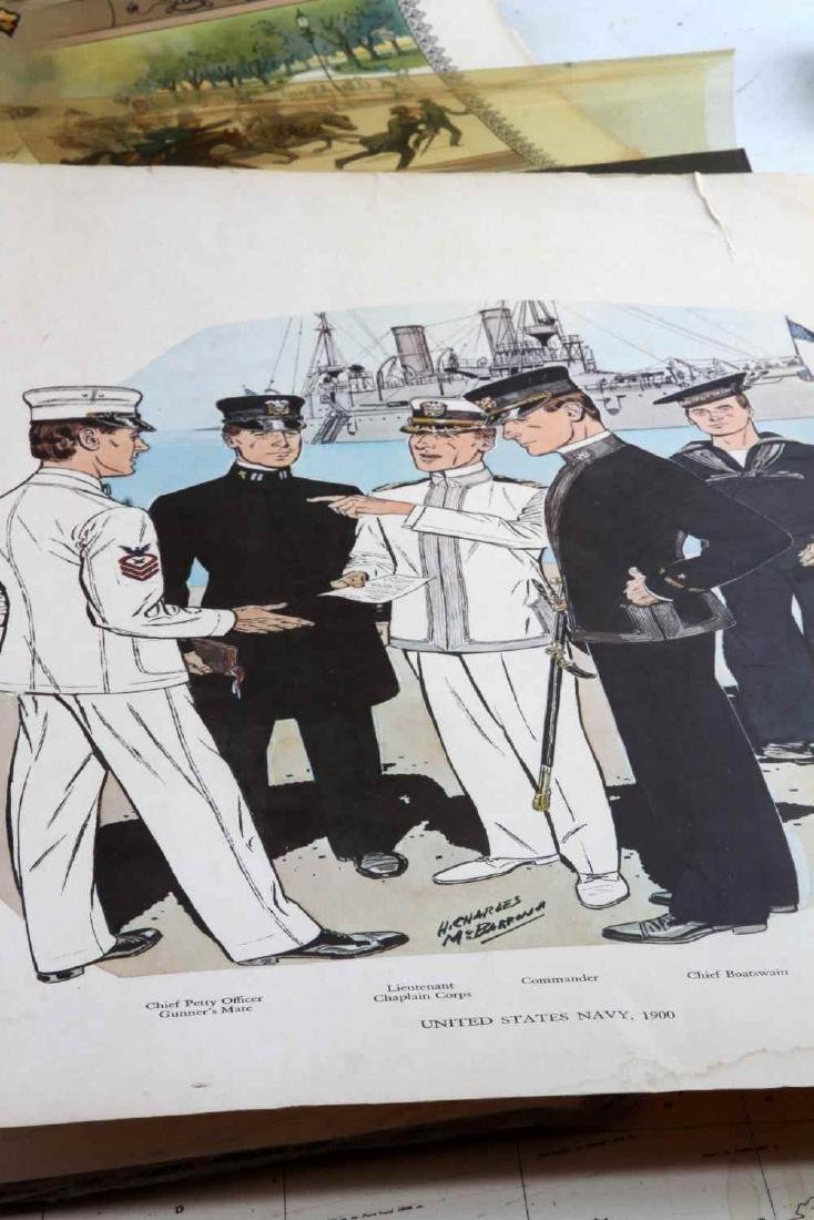 1902 WWI WWII POLICE FIREMAN WAR MILITARY POSTERS - 5