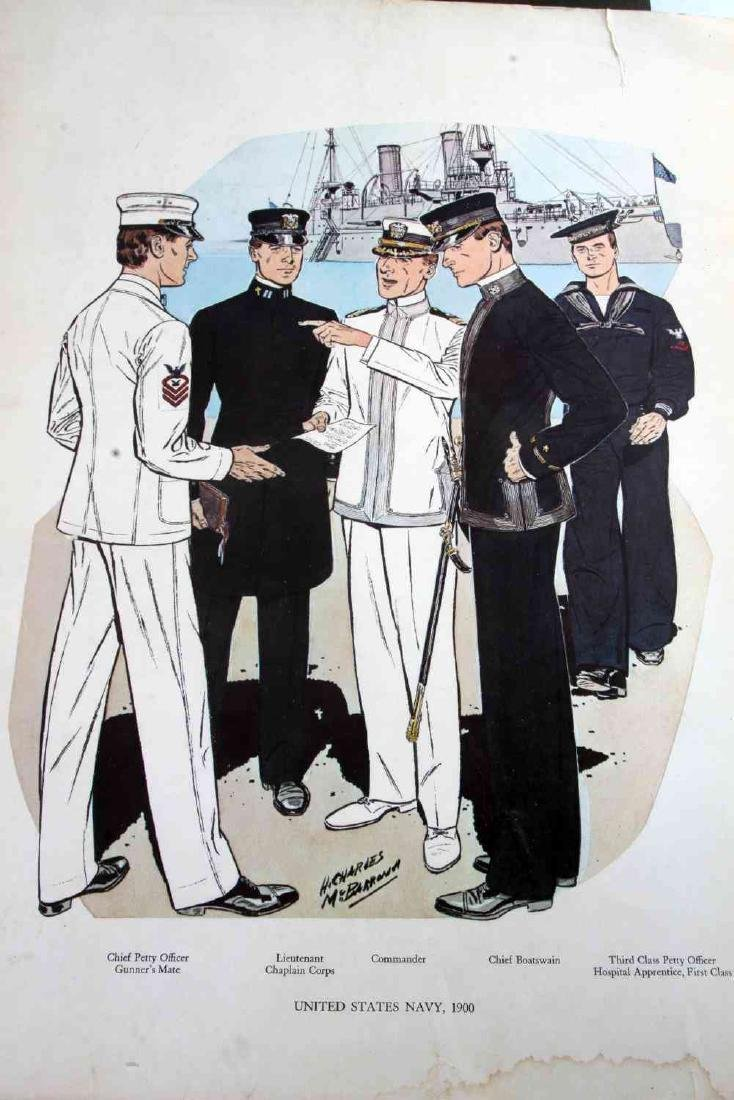 1902 WWI WWII POLICE FIREMAN WAR MILITARY POSTERS - 7