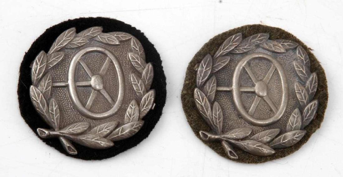 WWII GERMAN 3RD REICH DRIVER PROFICIENCY BADGE LOT