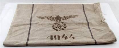 WWII GERMAN THIRD REICH WEHRMACHT GRAIN BAG 1944