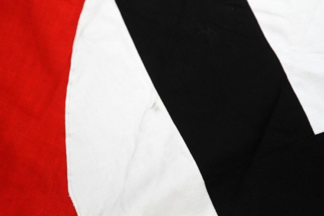 WWII GERMAN BULLION FRINGE NATIONAL FLAG BANNER - 2