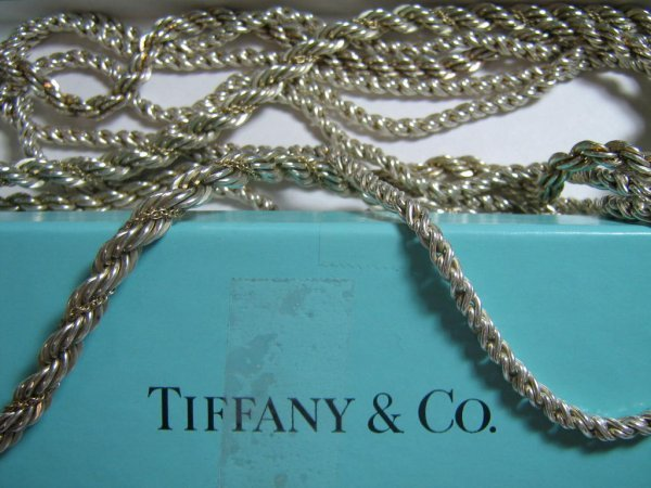 3 TIFFANY AND COMPANY STERLING SILVER NECKLACES