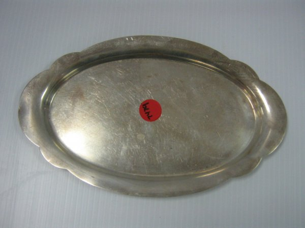 WALLACE CONTEMPORARY STERLING SILVER CANDY DISH