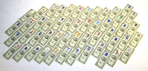 50 SEQUENTIAL $2 BILLS CU W STAR NOTE REPLACEMENT