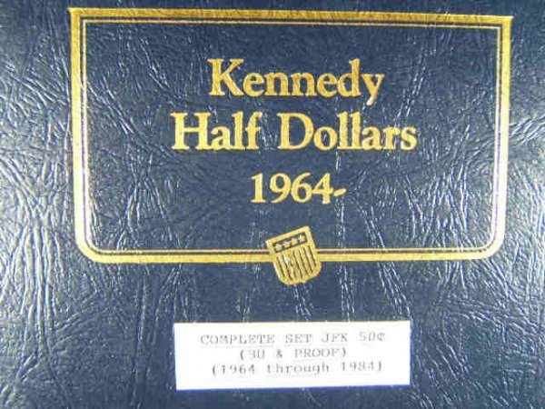 COMPLETE KENNEDY HALF DOLLAR SET BU & PROOF TO '84