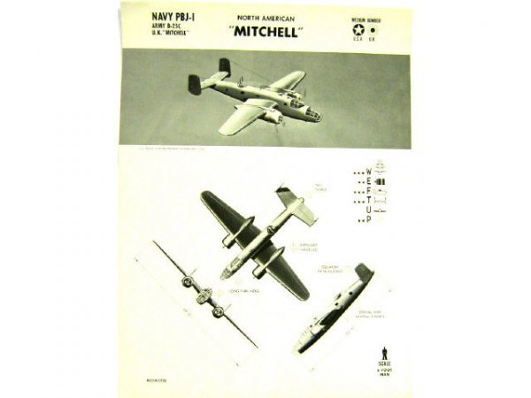 WWII NAVY TRAINING WEFTUP ID POSTERS ALLIED PLANES - 4