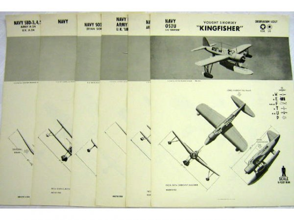 6 WWII NAVY WEFTUP IDENTIFICATION POSTERS UK USA