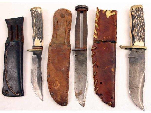 SCHRADE KNIFE LOT USA MADE 171UM & 497