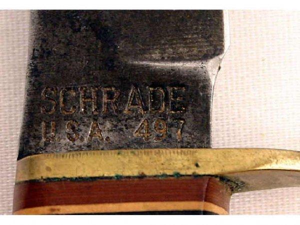 SCHRADE KNIFE LOT USA MADE 171UM & 497 - 3