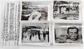 LOT 25 CHINESE BEHEADING PHOTOS WITH DESCRIPTION