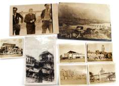 WWII LOT OF LIBERATION OF FRANCE PHOTOS  POSTCARD