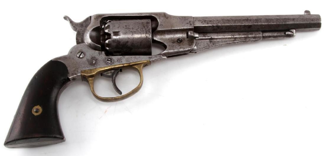REMINGTON MODEL 1858 PERCUSSION LOCK REVOLVER
