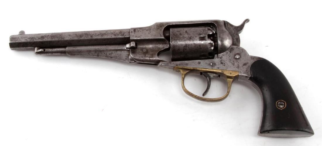 REMINGTON MODEL 1858 PERCUSSION LOCK REVOLVER - 2