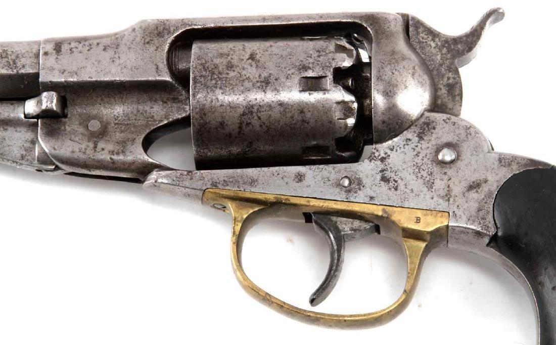 REMINGTON MODEL 1858 PERCUSSION LOCK REVOLVER - 3
