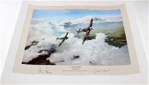 DUEL OF EAGLES FRANCE AVIATION PRINT ROBERT TAYLOR