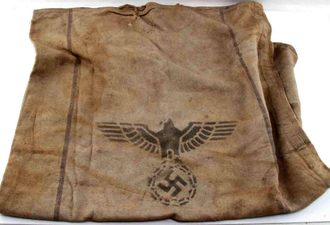WWII THIRD REICH WEHRMACHT HEER RATION GRAIN BAG