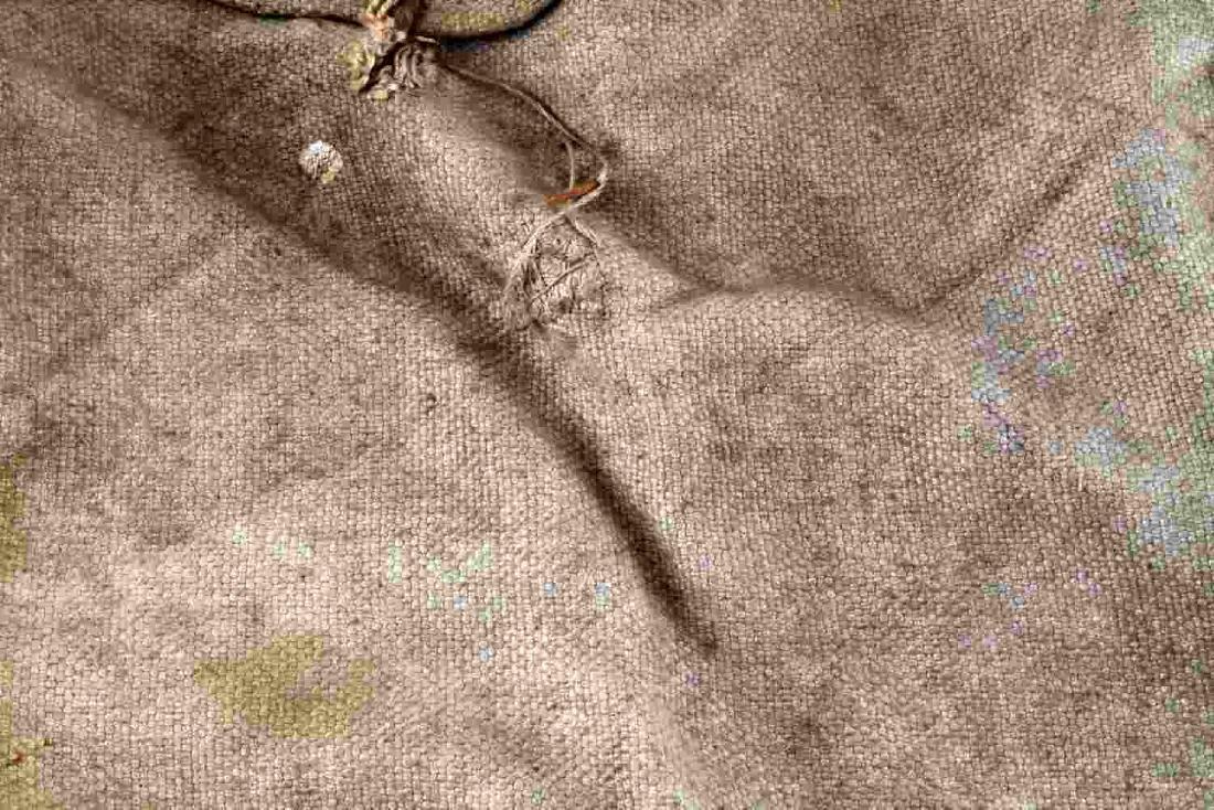 WWII THIRD REICH WEHRMACHT HEER RATION GRAIN BAG - 3