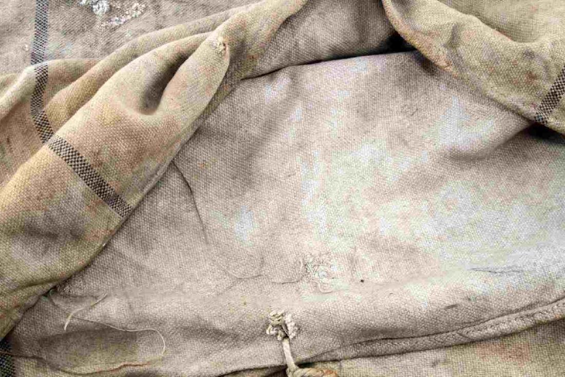 WWII THIRD REICH WEHRMACHT HEER RATION GRAIN BAG - 4