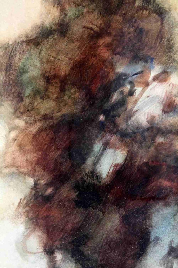DUTCH STYLE WATERCOLOR W WINDMILL BY VAN NEELAND - 4