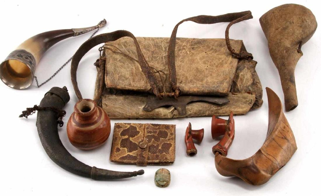 COLLECTION OF MIDDLE EAST OCEANA  ARTIFACT LOT