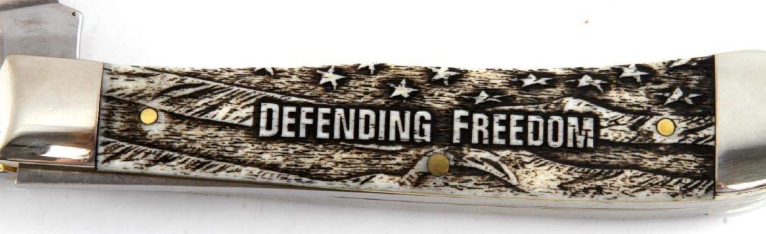 CASE XX WAR SERIES BONE TRAPPER KNIFE NEW - 5