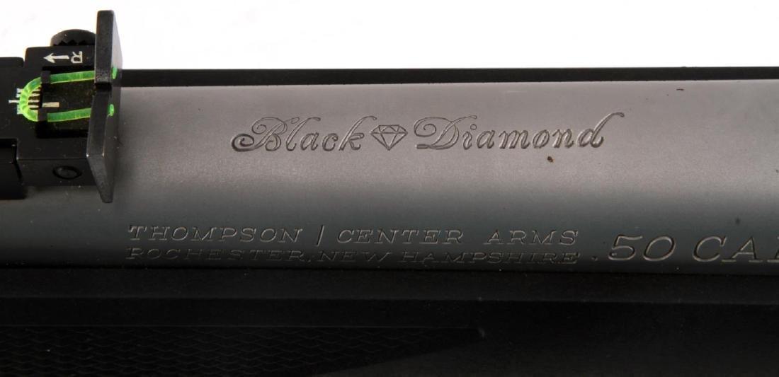 THOMPSON BLACK DIAMOND .50 CAL BLACK POWDER RIFLE - 5