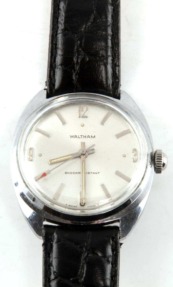 VINTAGE WALTHAM MENS STAINLESS WRISTWATCH