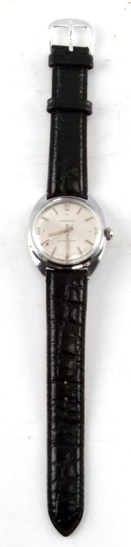VINTAGE WALTHAM MENS STAINLESS WRISTWATCH - 4