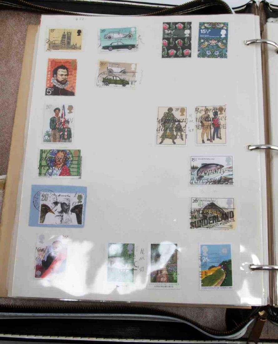 12 BINDERS OF U.S. & WORLD STAMP ISSUES 1978
