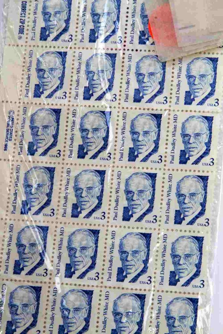 $311.00 FACE VALUE MINT NON HINGED US STAMP SINGLE - 4
