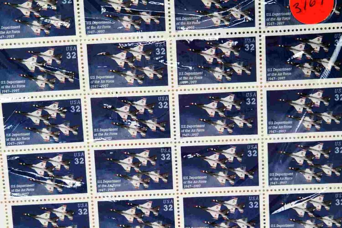 $228.36 FACE VALUE MINT SHEET U.S STAMP COLLECTION - 6