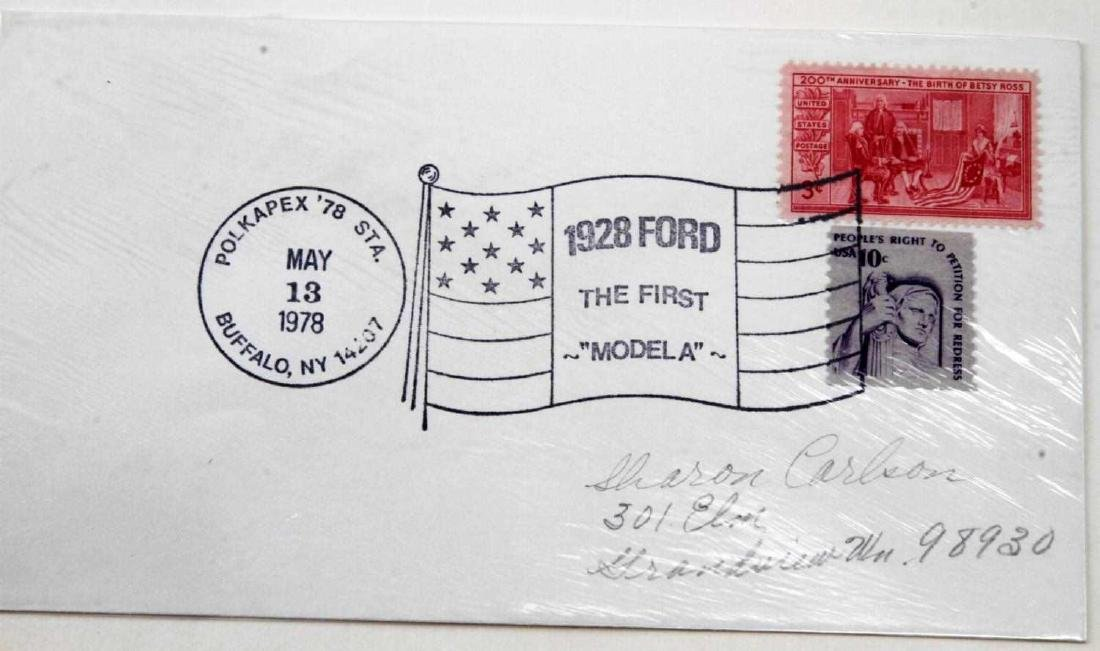BOXES OF VINTAGE US & FOREIGN CANCELLED STAMPS - 3