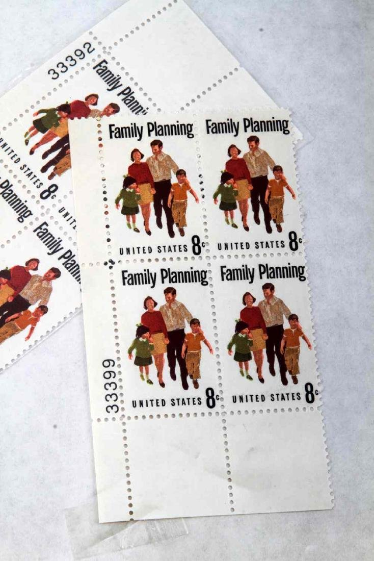 OVER $600 FACE VALUE OF U.S. PLATE BLOCK STAMPS - 6