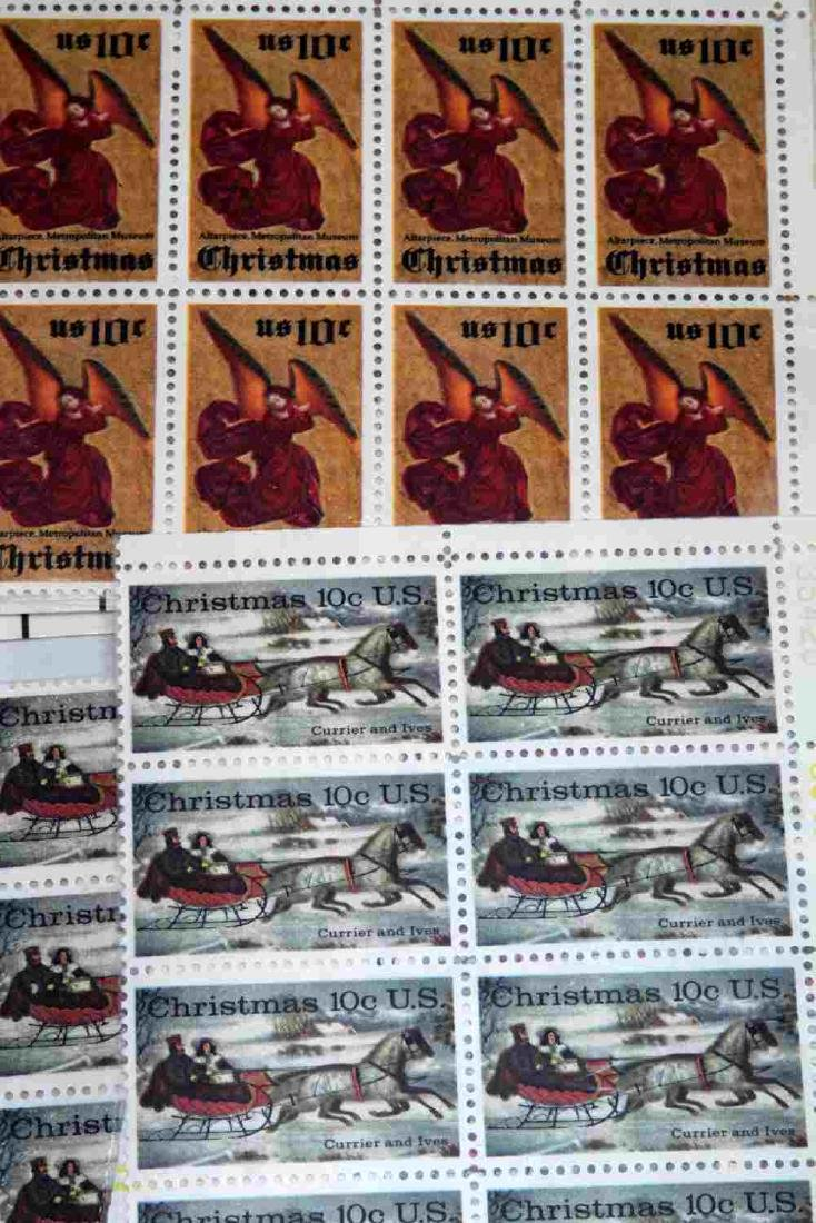 OVER $600 FACE VALUE OF U.S. PLATE BLOCK STAMPS - 7