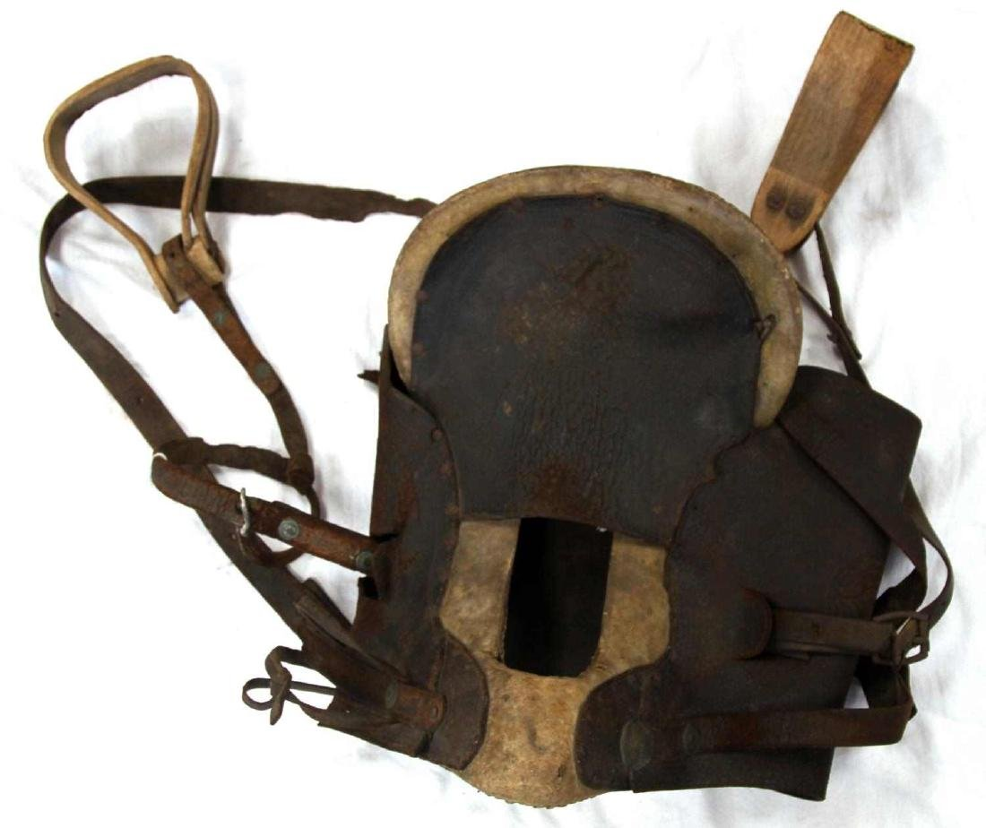 2 19TH CENTURY WOOD STIRRUP RIDING SADDLES - 3