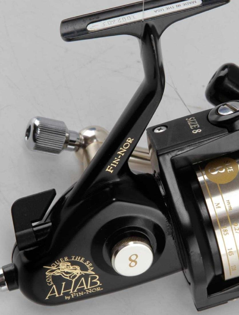 FIN NOR AHAB NUMBER 8 SALTWATER SPINNING REEL - 2