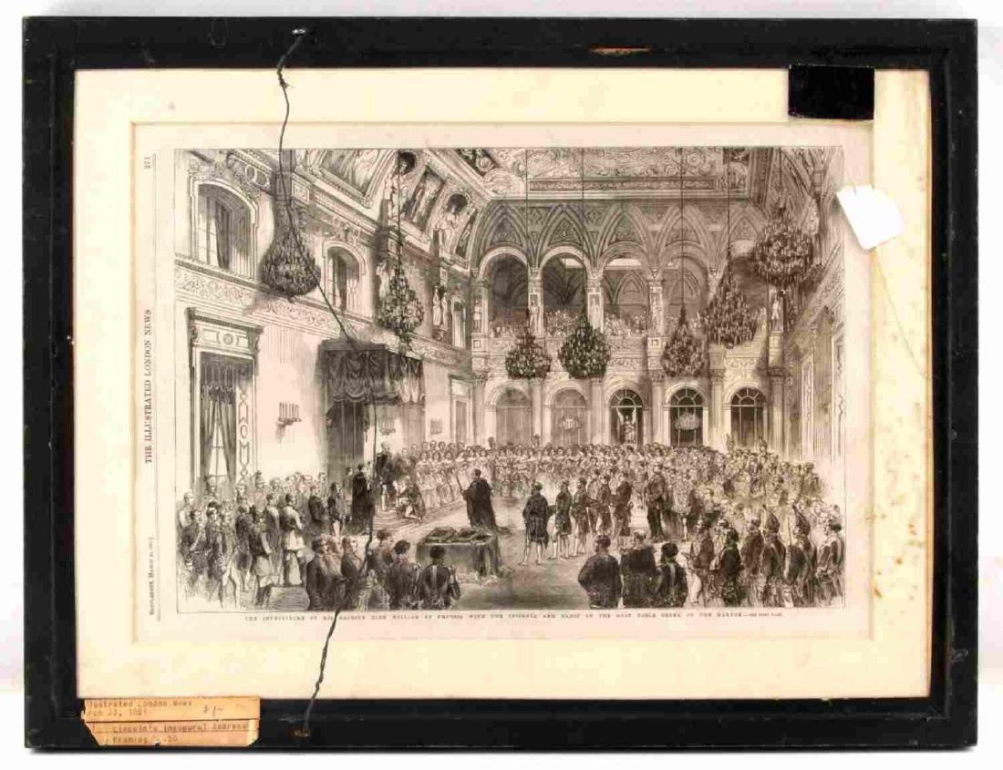 LONDON NEWS 1861 LINCOLN & GLACIER GIRL P38 PHOTO - 3